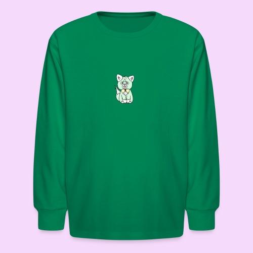 Lolipup Pack: Minty Pup! - Kids' Long Sleeve T-Shirt