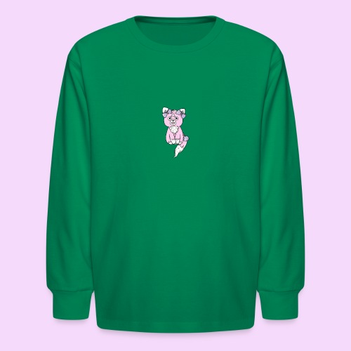 Lolipup Pack: Strawberry Pup! - Kids' Long Sleeve T-Shirt