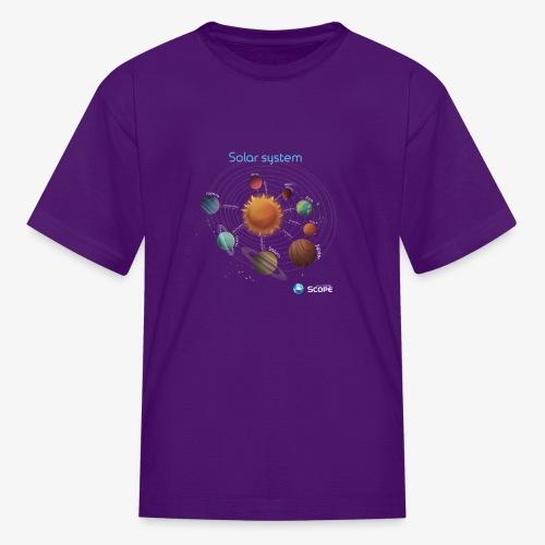 Solar System Scope : Solar System - Kids' T-Shirt