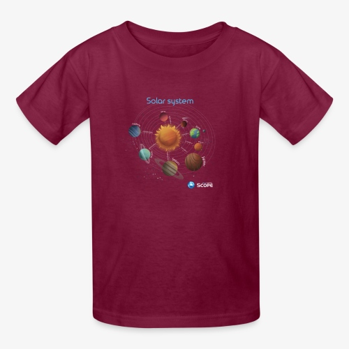 Solar System Scope : Solar System - Kids' T-Shirt