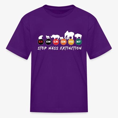 Stop mass extinction ! - Kids' T-Shirt