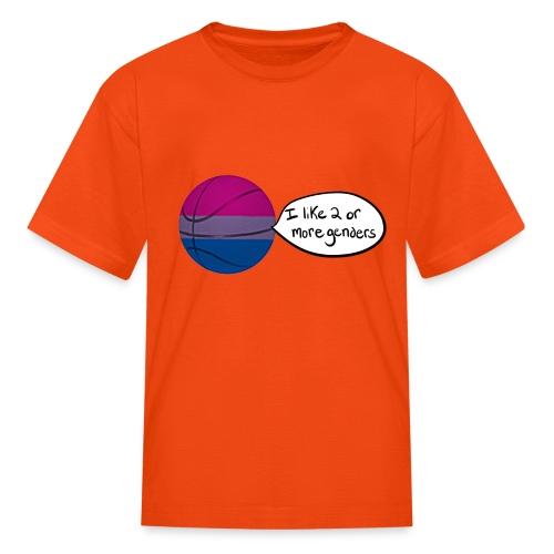 Bible/Bi-Ball Pun (For Those Who Like to Explain) - Kids' T-Shirt