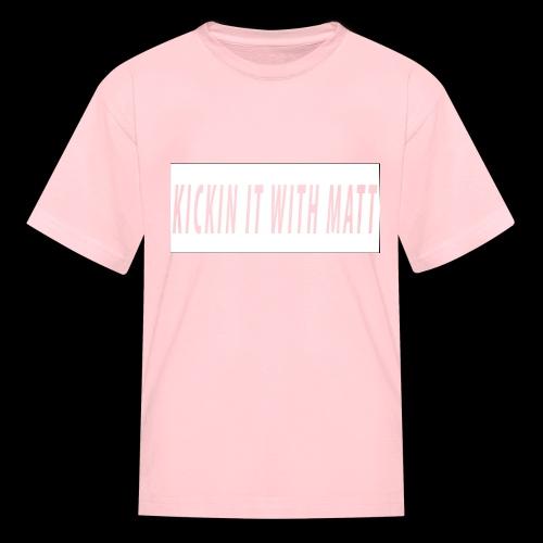 White Design - Kids' T-Shirt