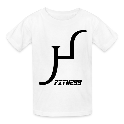 HIIT Life Fitness logo white - Kids' T-Shirt