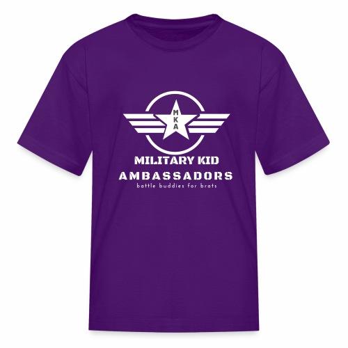 Military Kid Ambassador White - Kids' T-Shirt