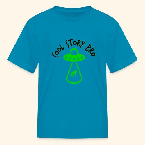 Cool Story Bro - Alien Abduction - Kids' T-Shirt