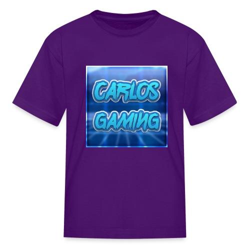 Carlos Gaming merchandise - Kids' T-Shirt