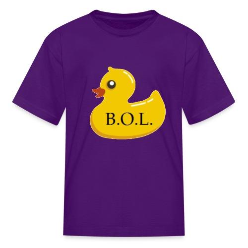 Official B.O.L. Ducky Duck Logo - Kids' T-Shirt