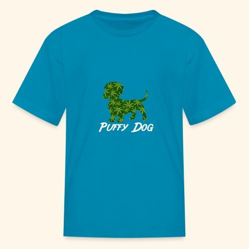 PUFFY DOG - PRESENT FOR SMOKING DOGLOVER - Kids' T-Shirt