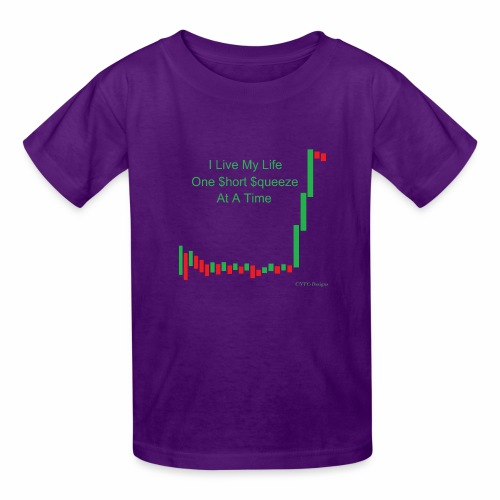 I live my life one short squeeze at a time - Kids' T-Shirt