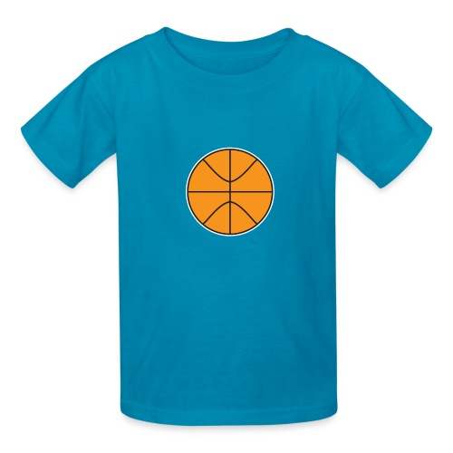 Plain basketball - Kids' T-Shirt