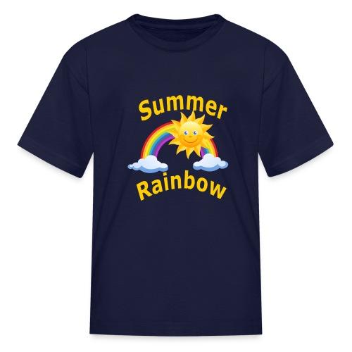 Summer Rainbow - Kids' T-Shirt