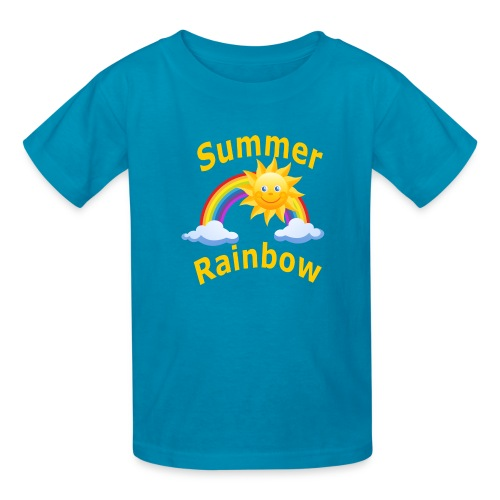 Summer Rainbow - Kids' T-Shirt