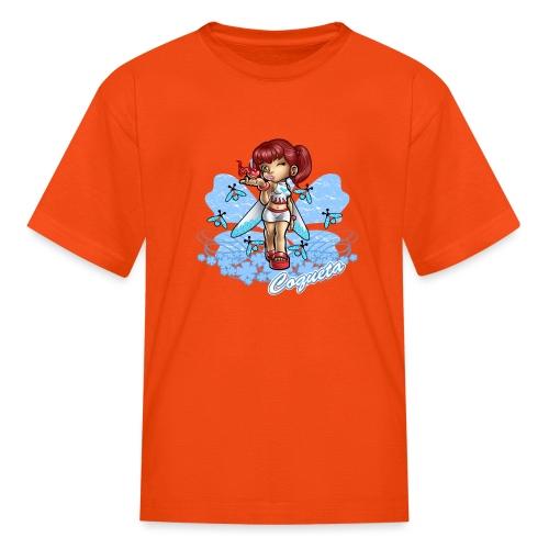 Coqueta Firefly by RollinLow - Kids' T-Shirt
