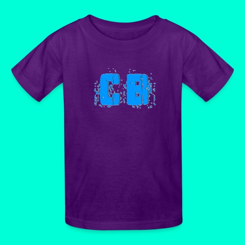 Transparent CB logo - Kids' T-Shirt