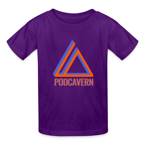 PodCavern Logo - Kids' T-Shirt