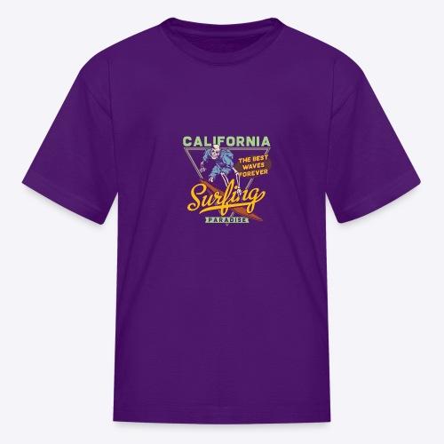 California Surfing Paradise - Kids' T-Shirt