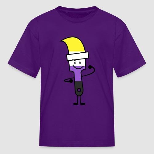 Paintbrush Pride - Kids' T-Shirt