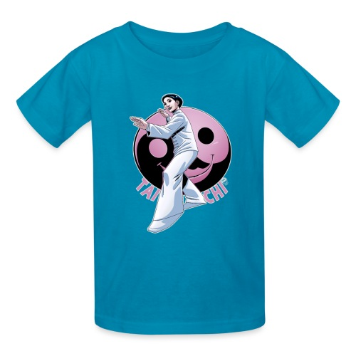 Tai Chi Nancy Hellman inspired design - Kids' T-Shirt