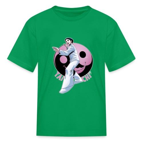 Tai Chi Nancy Hellman inspired design - Kids' T-Shirt