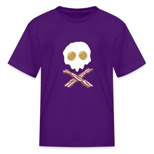 Breakfast Skull - Kids' T-Shirt