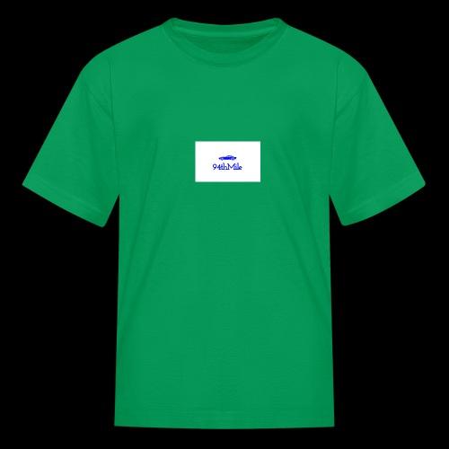 Blue 94th mile - Kids' T-Shirt
