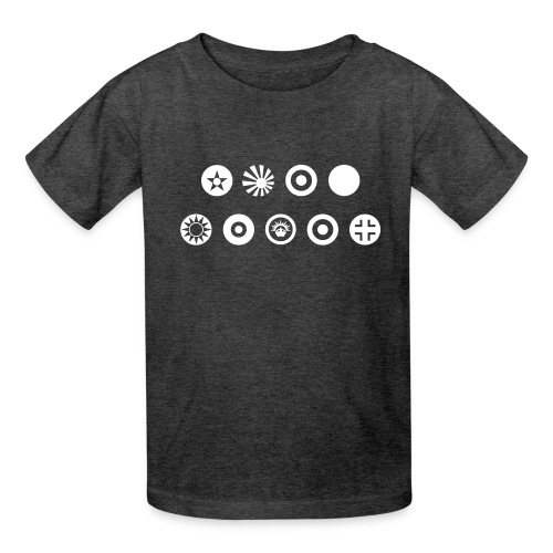 Axis & Allies Country Symbols - One Color - Kids' T-Shirt