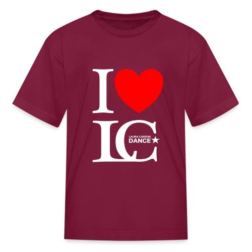 I Heart LCDance - Kids' T-Shirt