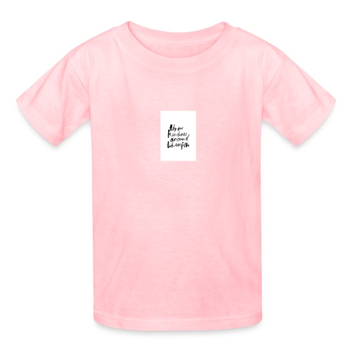 Throw kindness around - Kids' T-Shirt