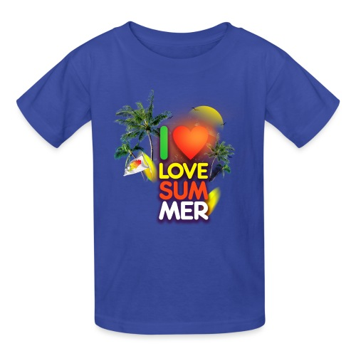 I love summer - Kids' T-Shirt