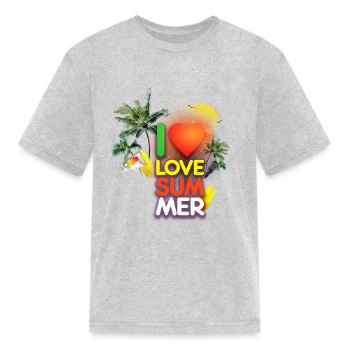 I love summer - Kids' T-Shirt
