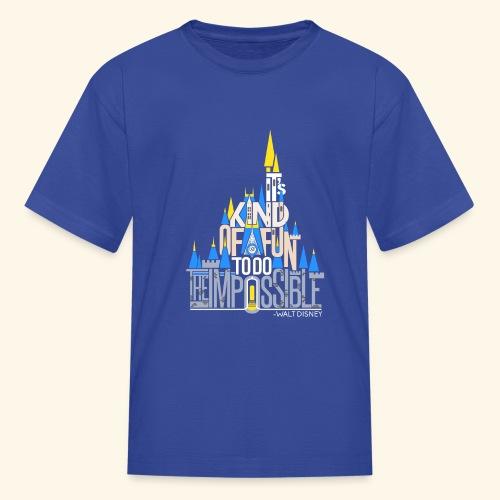 It's Kind of Fun... Original - Kids' T-Shirt