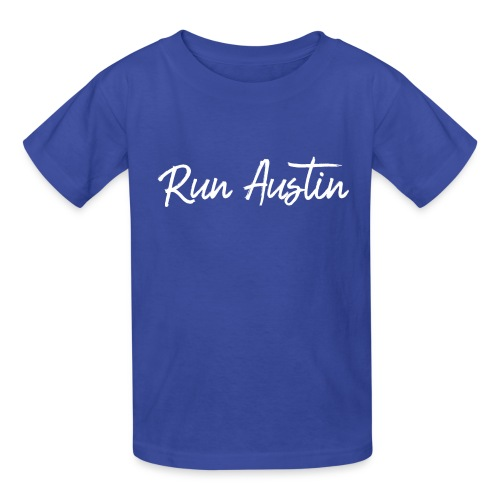 Run Austin Virtual Series - Kids' T-Shirt