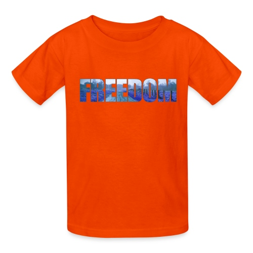 Freedom Photography Style - Kids' T-Shirt
