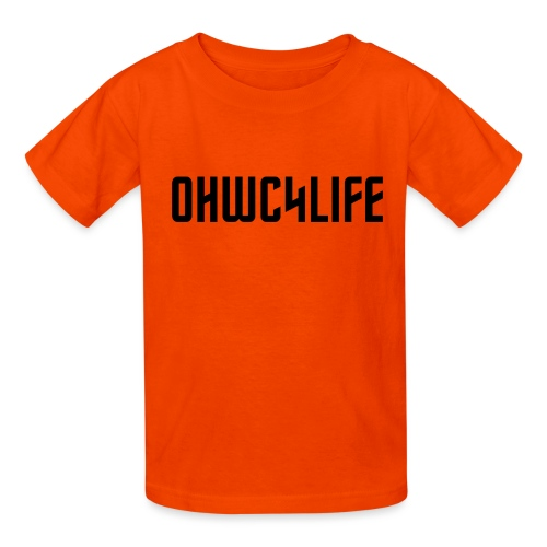 OHWC4LIFE NO-BG - Kids' T-Shirt