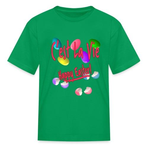 C'est La Vie, Easter Broken Eggs, Cest la vie - Kids' T-Shirt