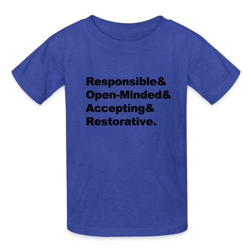 ROAR Helvetica - Kids' T-Shirt