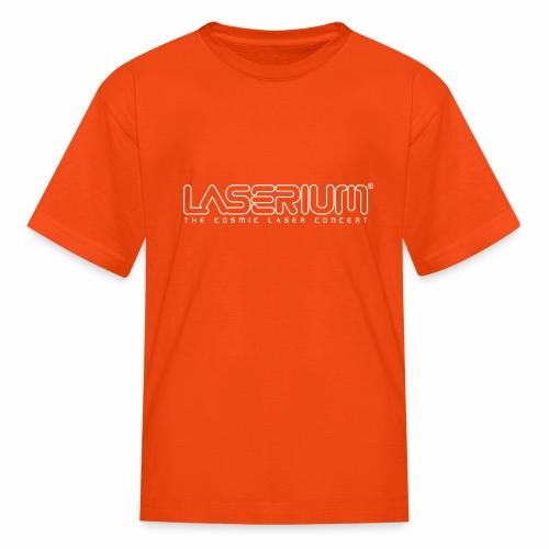 Laserium Logo OL White Tag - Kids' T-Shirt