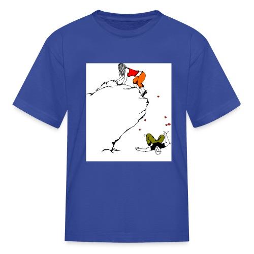Lady Climber - Kids' T-Shirt