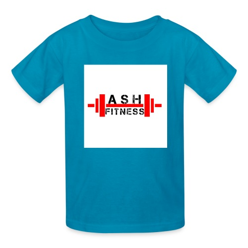 ASH FITNESS MUSCLE ACCESSORIES - Kids' T-Shirt