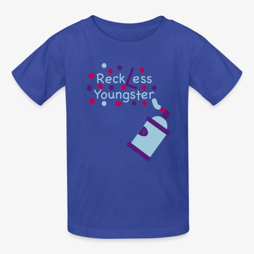 reckless youngster boys - Kids' T-Shirt