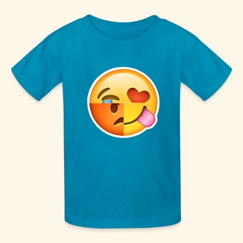 E Tees , Unique , Love , Cry, angry - Kids' T-Shirt