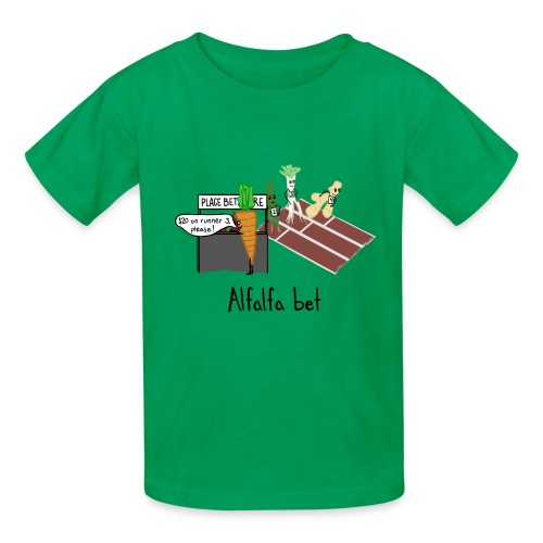 Alfalfa Bet - Kids' T-Shirt