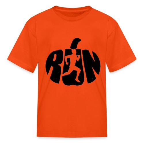 Halloween Running Pumpkin - Kids' T-Shirt