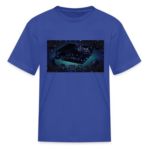 ps4 back grownd - Kids' T-Shirt