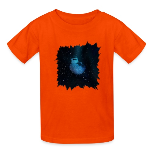 Galaxy Duckling in Space - Kids' T-Shirt