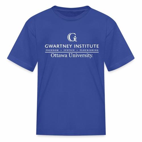 Gwartney Institute Logo - Kids' T-Shirt