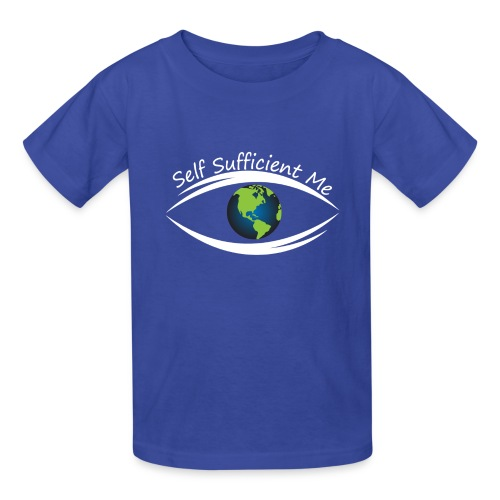 Self Sufficient Me Logo Large - Kids' T-Shirt