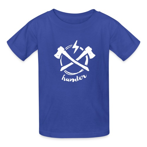 woodchipper back - Kids' T-Shirt