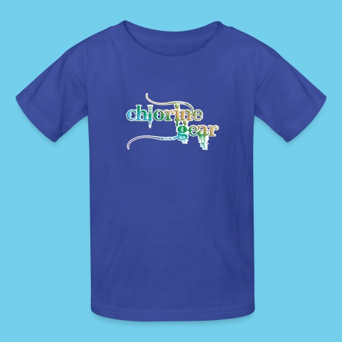 Chlorine Gear Text Rainbow warrior - Kids' T-Shirt